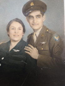 My grand-uncle Manuel and my great-grandmother.