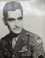 My grand-uncle Manuel, who is a WWII and D-Day Veteran. He flew in B16 bombers during the war.